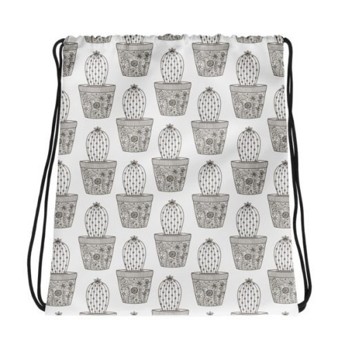 Cactuses – Drawstring bag