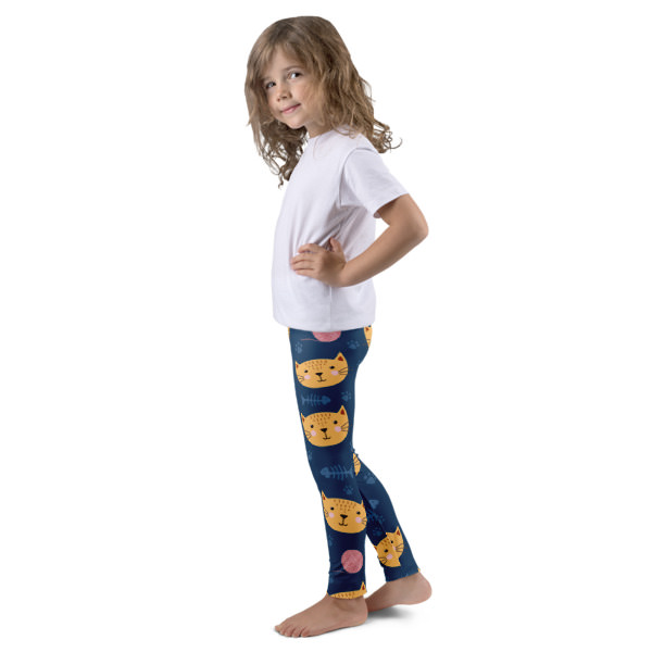 Cats Dark – Kid's leggings