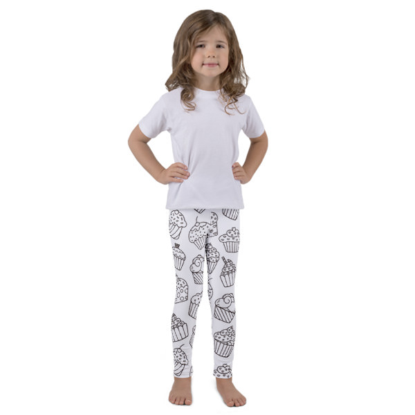 Cupcakes – Kid's leggings