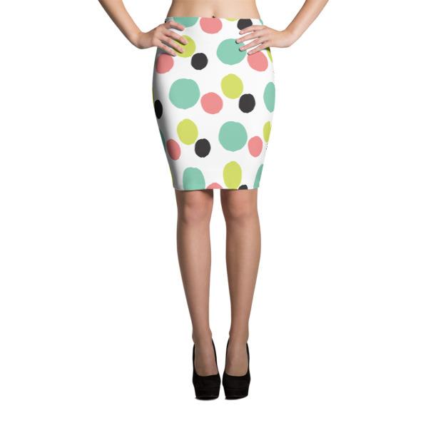 Dots – Pencil Skirt