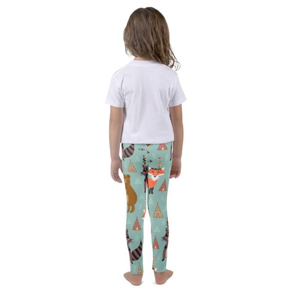 Fox, Racoon, Bears . -Kid's leggings