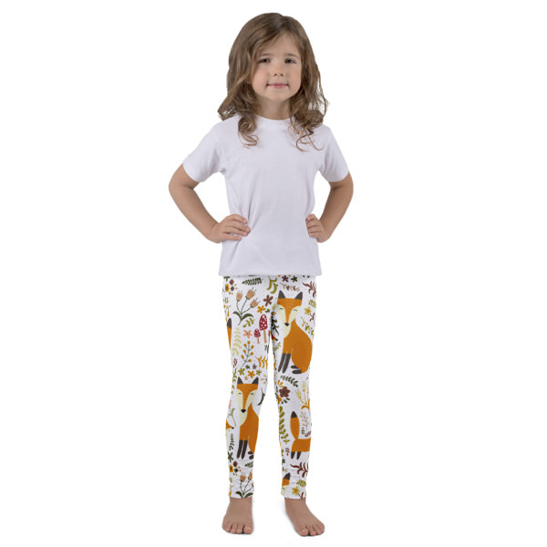 Foxes 2 – Kid's leggings