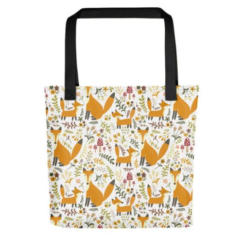 Foxes 2 – Tote bag