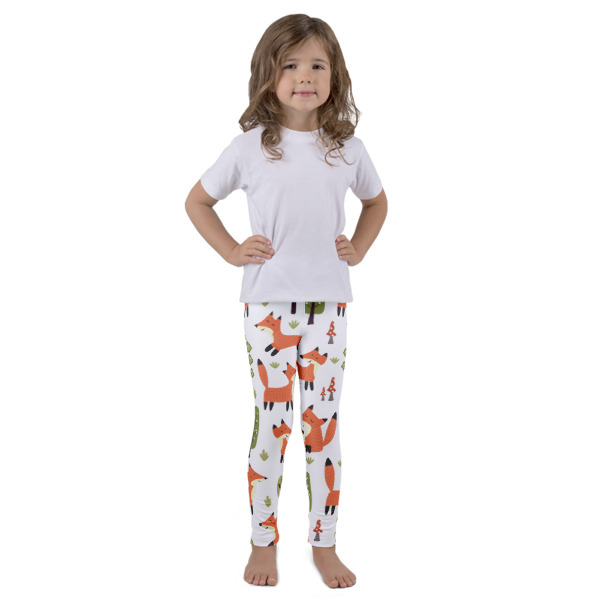 Foxes – Kid's leggings