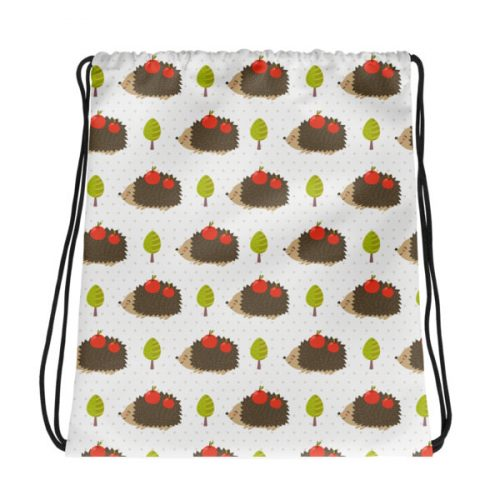 Hedgehogs – Drawstring bag