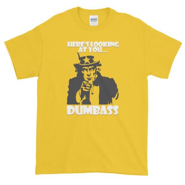 Here's Looking at You – Mens Tee