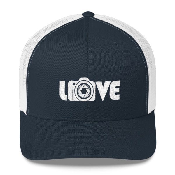 Love Camera – Photography – Trucker Cap
