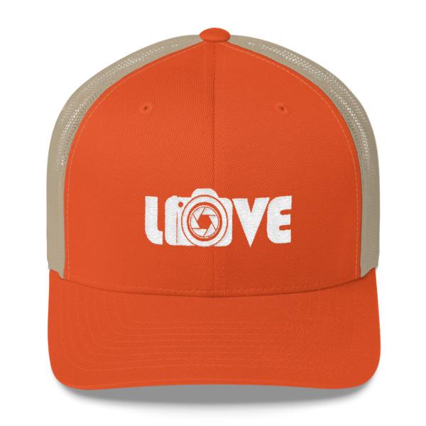 Love Camera – Photography – Trucker Cap