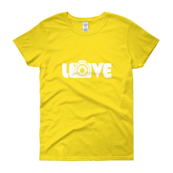 Love Camera – Women's Tee