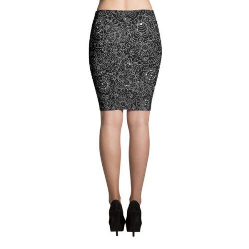 Mandala 1 – Pencil Skirt