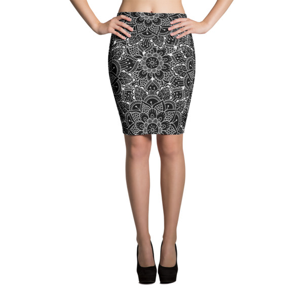 Mandala 3 – Pencil Skirt