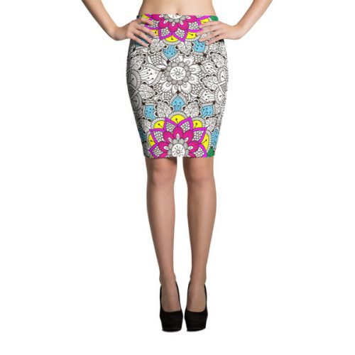 Mandala 4 – Pencil Skirt