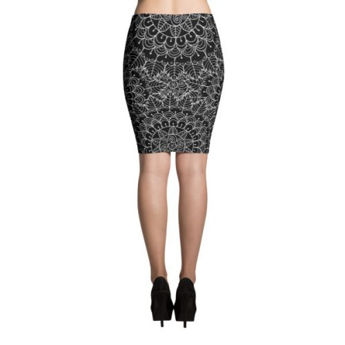 Mandala – Pencil Skirt