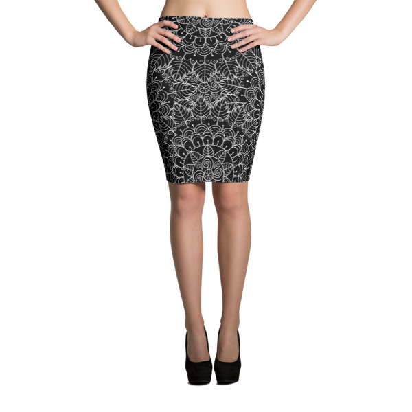 Mandala – Pencil Skirt