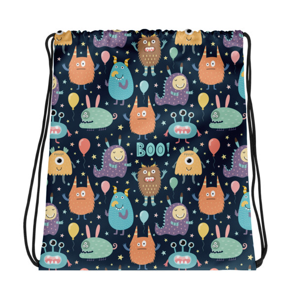 Monsters – Drawstring bag