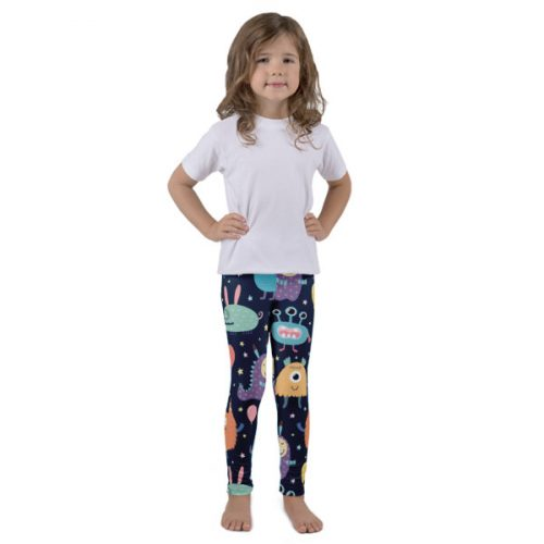 Monsters – Kid's leggings