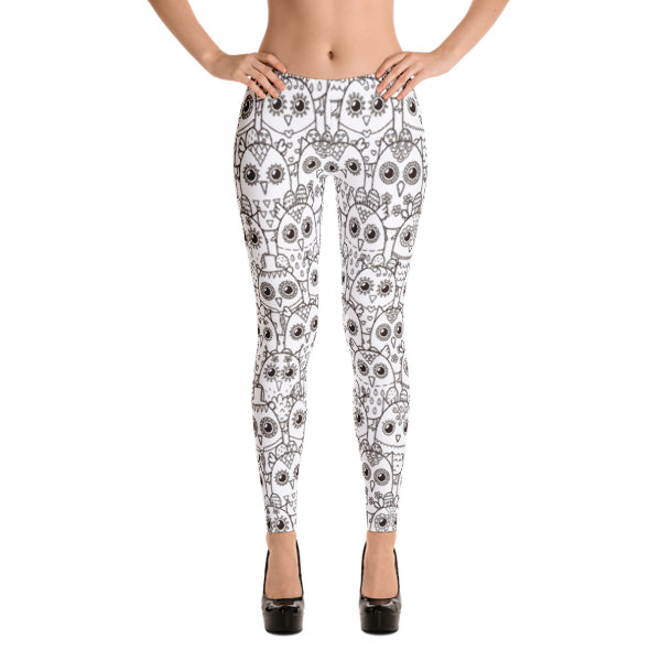 Owl Outlines – Leggings