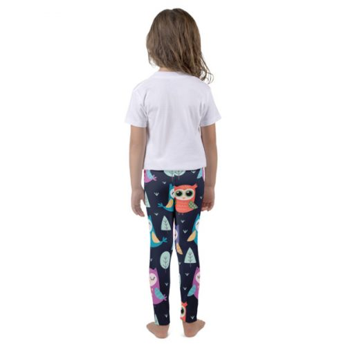 Owls Dark – Kid's leggings