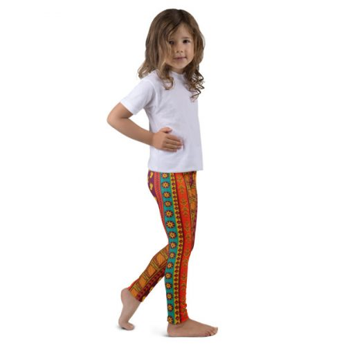 Pattern Ocher – Kid's leggings