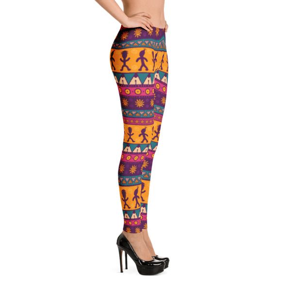 Pattern Ocher – Leggings