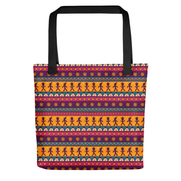 Pattern Ocher – Tote bag