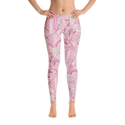 Pattern Pinks – Leggings