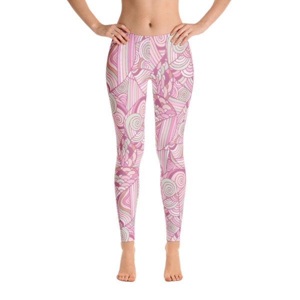 Pattern Pinks – Leggings