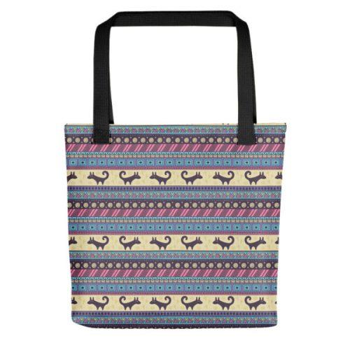 Pattern Purple – Tote bag