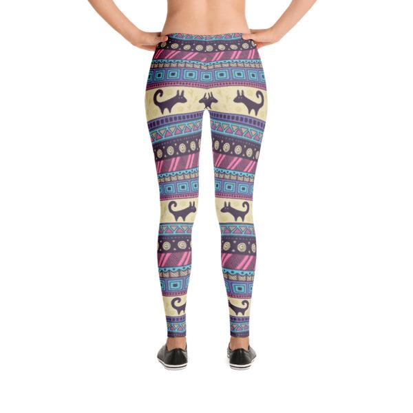 Pattern Purples Ethnic – Leggings