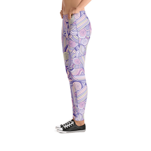 Pattern Purples – Leggings