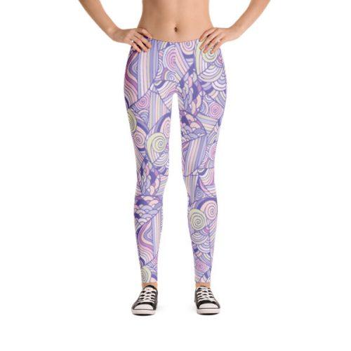 Pattern Purples – Leggings