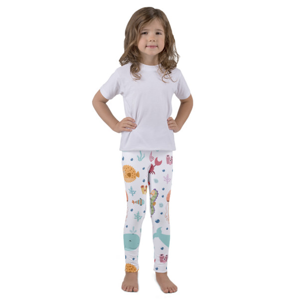 Sea Creatures – Kid's leggings