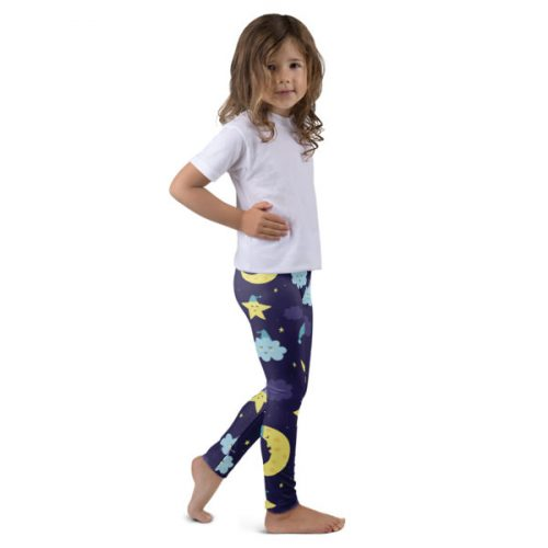 Sleepy Moon – Kid's leggings
