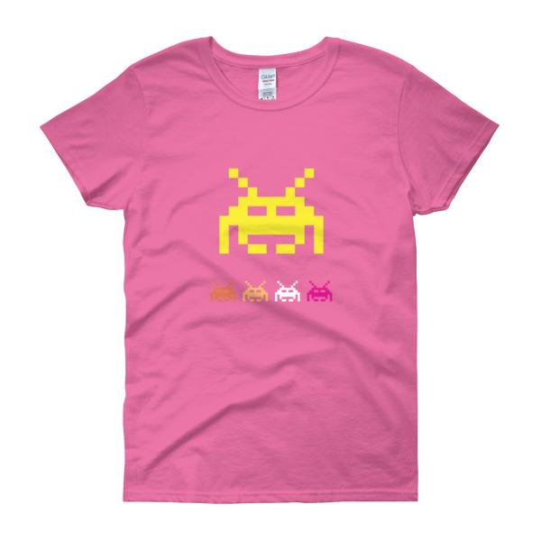 Space Invaders 5 – Women's Tee