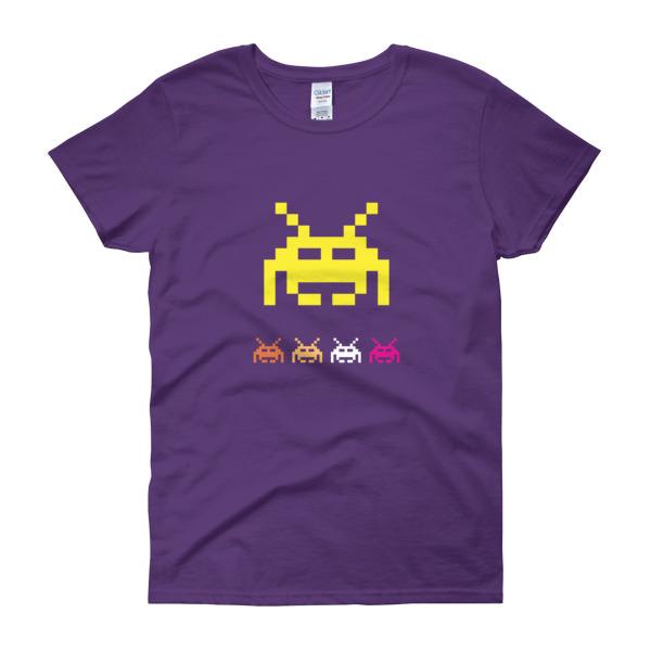 Space Invaders 5 - Women's Tee 2
