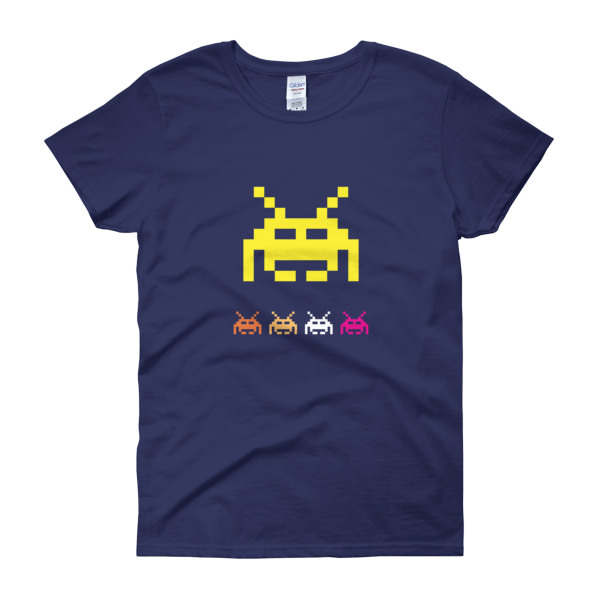 Space Invaders 5 - Women's Tee 3
