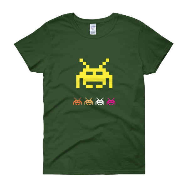 Space Invaders 5 – Women's Tee