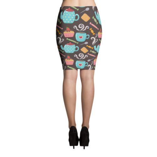 Teacups – Pencil Skirt