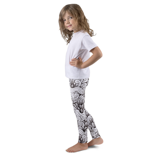 Twirls – Kid's leggings