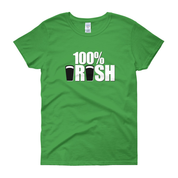 100% Irish – Women's Tee