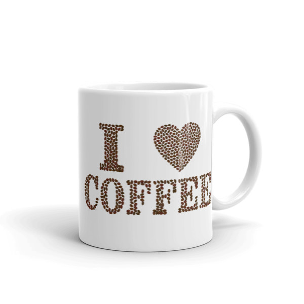 I Love Coffee – Mug