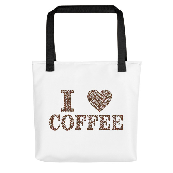 I Love Coffee – Tote bag