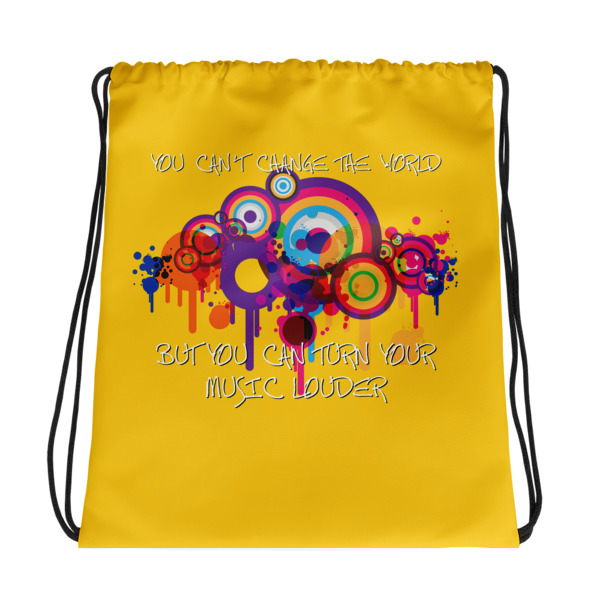 You Can't Change The World – Drawstring bag