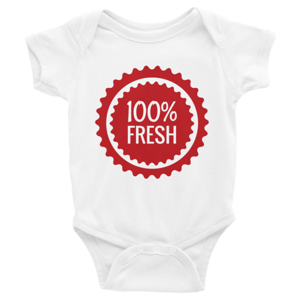 100% Fresh – Infant Bodysuit