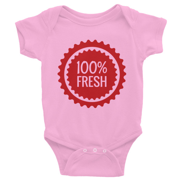 100% Fresh – Infant Bodysuit