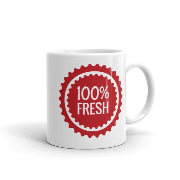 100% Fresh – Mug