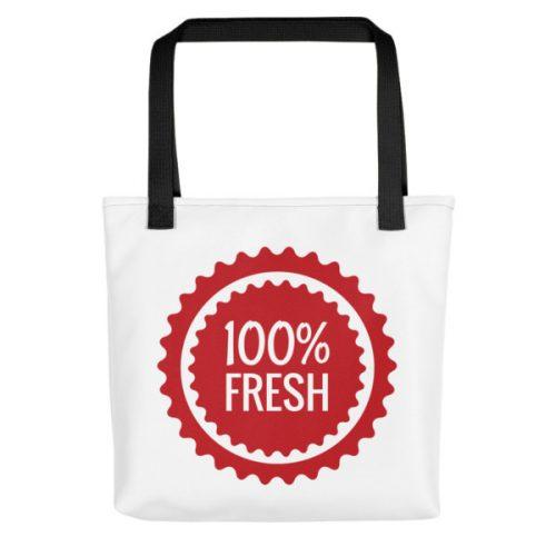 100% Fresh – Tote bag