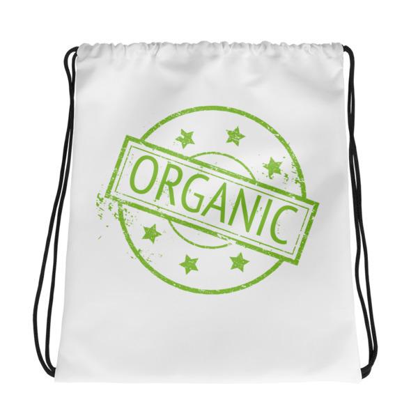 100% Organic – Drawstring bag