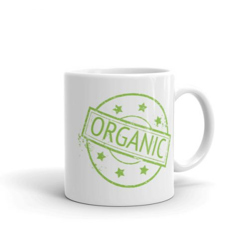 100% Organic – Mug