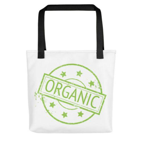 100% Organic – Tote bag